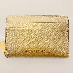 Michael Kors - Mini Gold Wallet